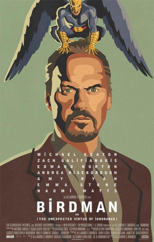 Birdman o (L'imprevedibile virtù dell'ignoranza), (Alejandro González Iñárritu, 2014)