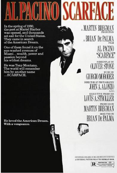 Scarface (B. De Palma, 1983)