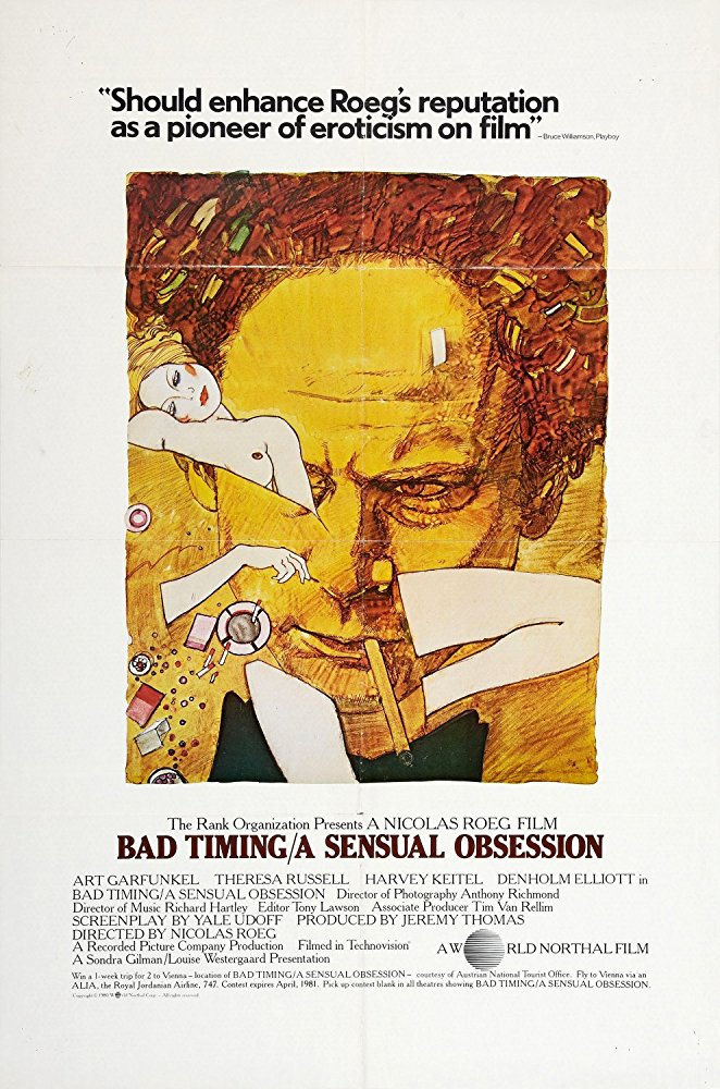 Il lenzuolo viola – Bad Timing (N.Roeg, 1980)