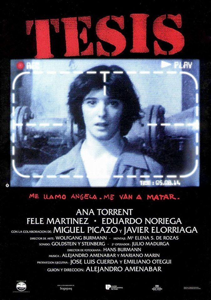 Tesìs (A. Amenàbar, 1996)