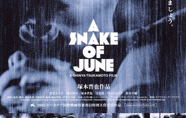 A snake of June (2002, Shinya Tsukamoto)