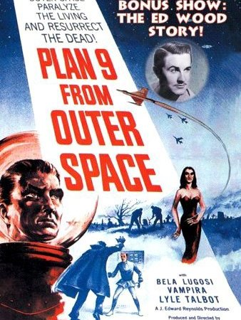 Plan 9 From Outer Space (E. Wood, 1955)