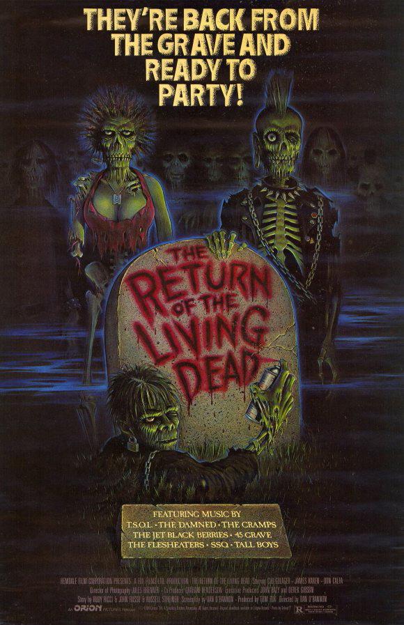 Il ritorno dei morti viventi (D. O' Bannon, 1985)