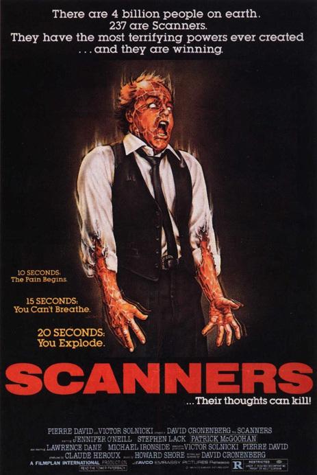 Scanners – I pensieri possono uccidere (D. Cronenberg, 1981)