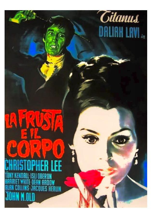 La frusta e il corpo (M. Bava, 1963)