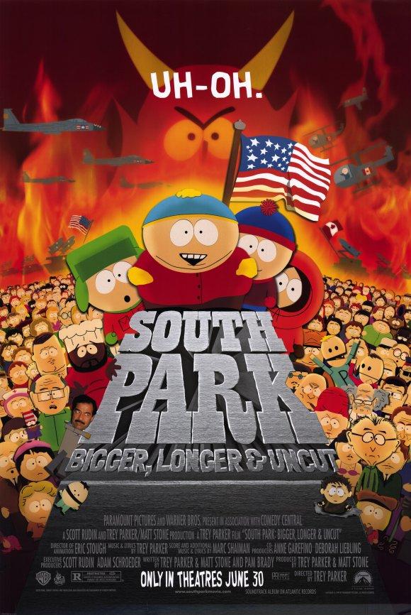 South Park – Il film: Più grosso, più lungo & tutto intero (T. Parker, 1999)