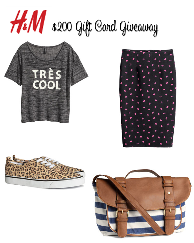 H&M Giveaway