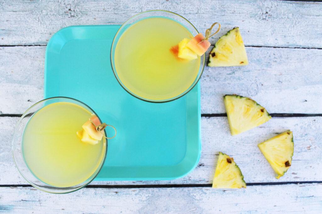 Pineapple Saketini Lipgloss And Crayons