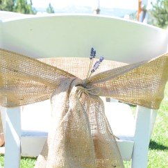 Burlap Chair Sashes Thomas Table And Chairs Uk