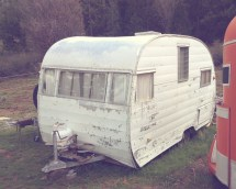 Vintage Travel Trailer Camper
