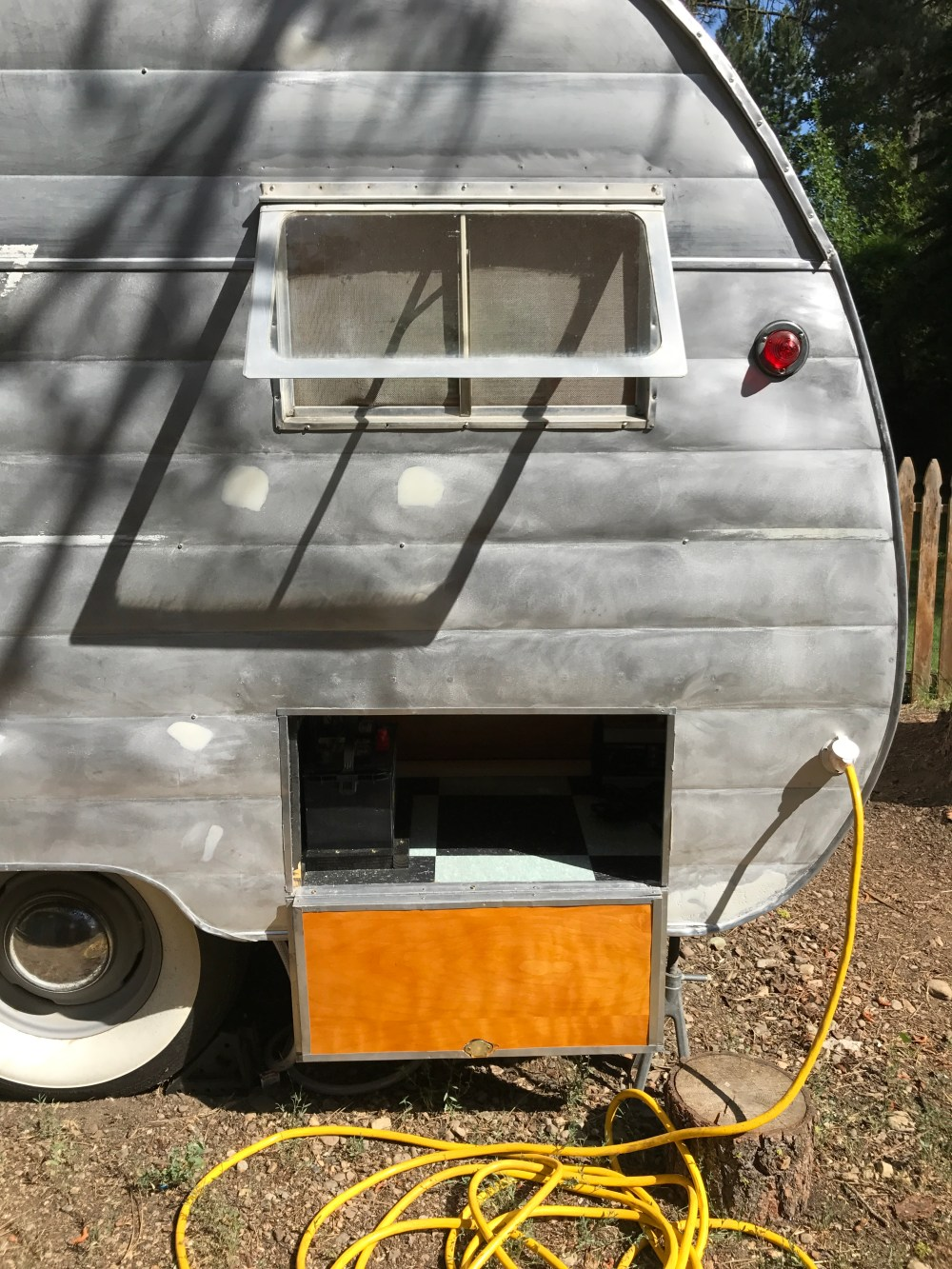 medium resolution of because my 1956 shasta wasn t equipped with a shore power outlet this was all new to me after i purchased the outlet i realized that i needed a power