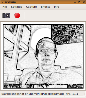wxCam screenshot