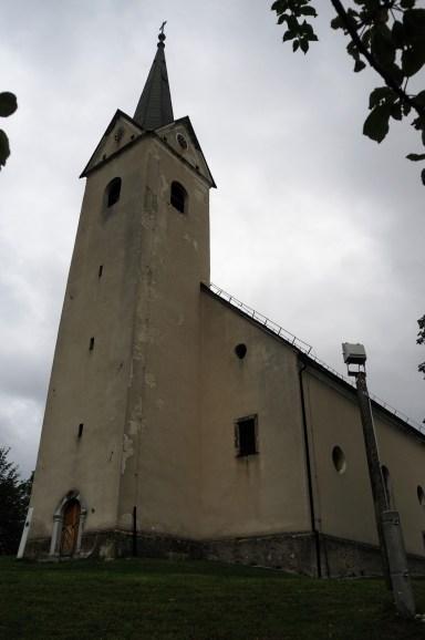 Végül csak sikerült felmenni (második próbálkozásra a szállásunkkal farkasszemet néző Sv. Anton templomhoz.
