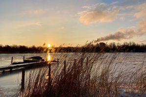 Hajnal az IJmeeren