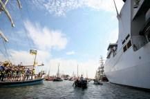 A holland haditengerészet két hadihajóval és egy tengeralattjáróval vett részt