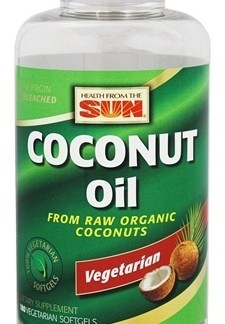 coconut oil soft gels