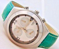 Swatch Irony Chrono Medium unisex Chronograph vintage swatch swiss made watch