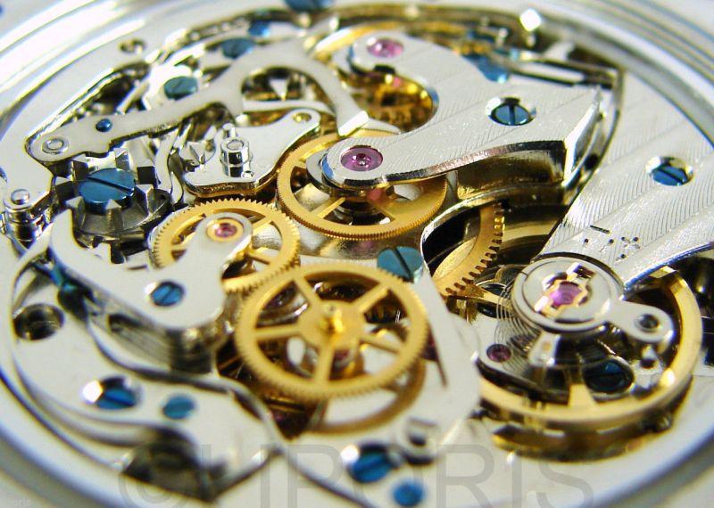 Riedenschild AdvancePro Herren - Armbanduhr mechanischer Schaltrad Chronograph