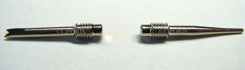 Edelstahlspitzen Ersatzteile für Alu Federstegwerkzeug und Stiftausdrücker