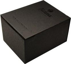 TUTIMA Uhrbox Karton schwarz Reise und Service Etui