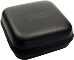 UNION Glashütte /SA Uhrbox Kunststoff schwarz Reise und Service Etui