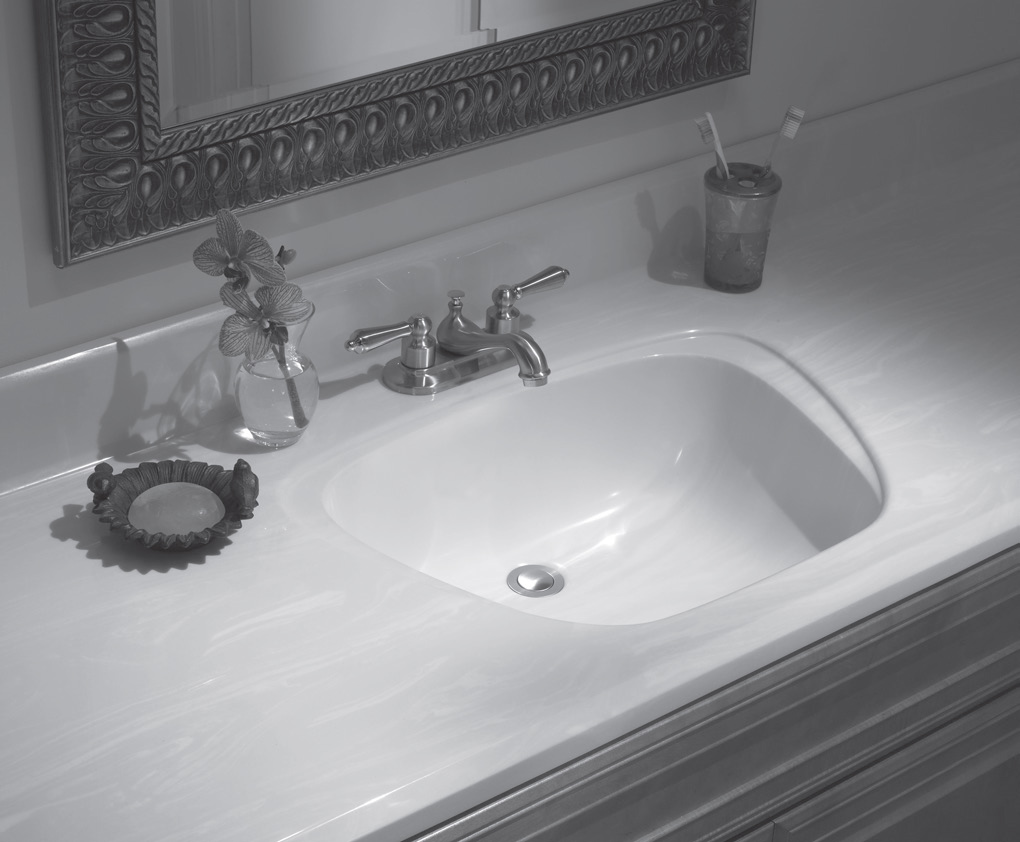 Bathroom Vanity Top With Sink Lippert Cultured Marble Vanities