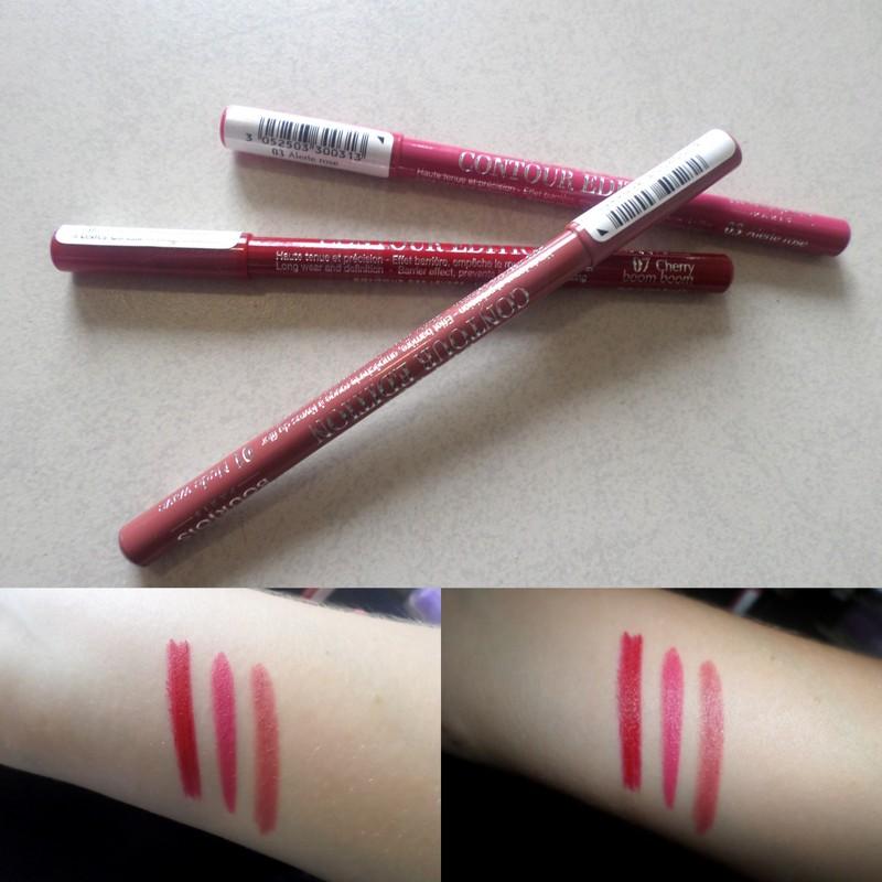 Clinique Lip Pencil Colors