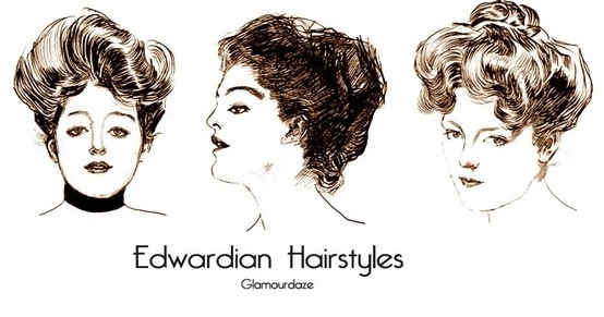 edwardian hair and make- 1901-1910