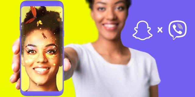 Rakuten Viber i Snap udruženim snagama predstavljaju AR Objektive na popularnoj platformi za razmenu poruka