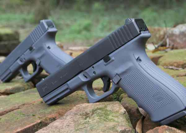 Lipsey' Guns - Full And Two-tone Grey Glock