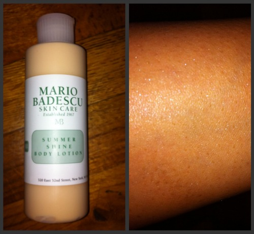 Mario Badescu Summer Shine Body Lotion at the Makeup Show