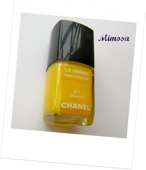 Chanel Le Vernis in Mimosa