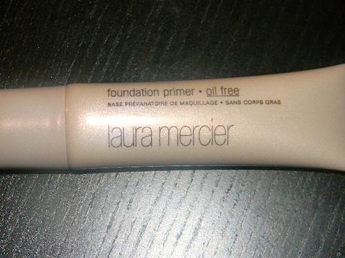 Laura Mercier foundation primer before makeup application