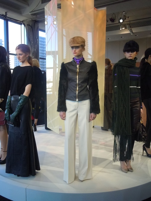 Mercedes Benz Fashion Week Monika Chiang Fall Winter 2012