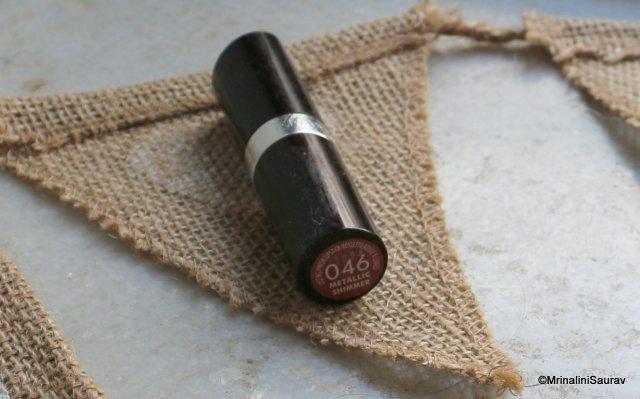 Rimmel Lasting Finish Lipstick #046 Metallic Shimmer
