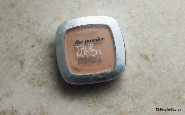 Loreal Paris True Match Powder Beige Review