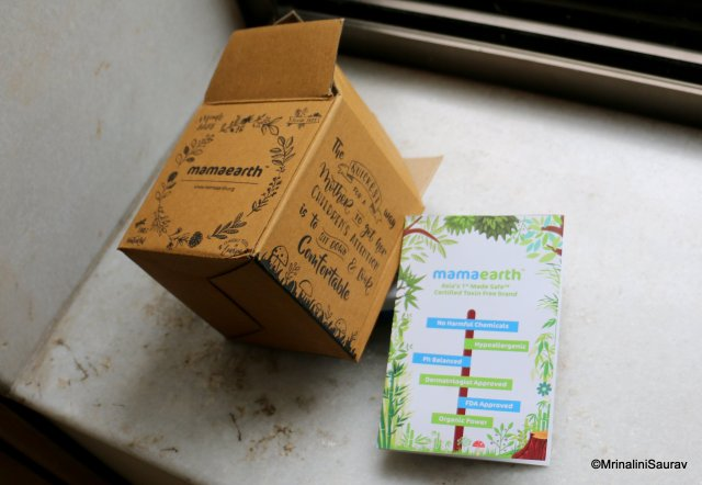 MamaEarth Review Packaging
