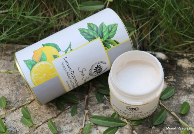 Seer Secrets Lemon Cypress Japanese Mint Active Silver Ion Deodorant Cream Review