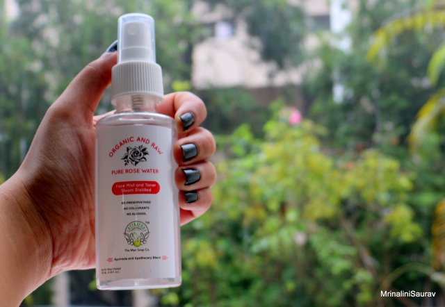 Greenberry Organics Pure Rose Water Face Mist and Toner | Review