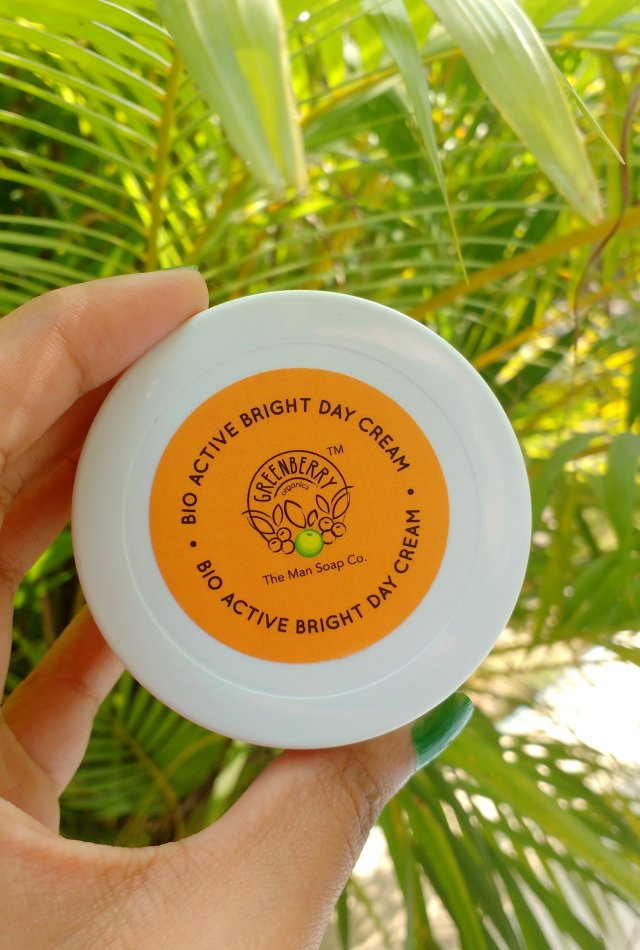 Greenberry Organics Bio Active Bright Day Cream | First Impressions Style Review