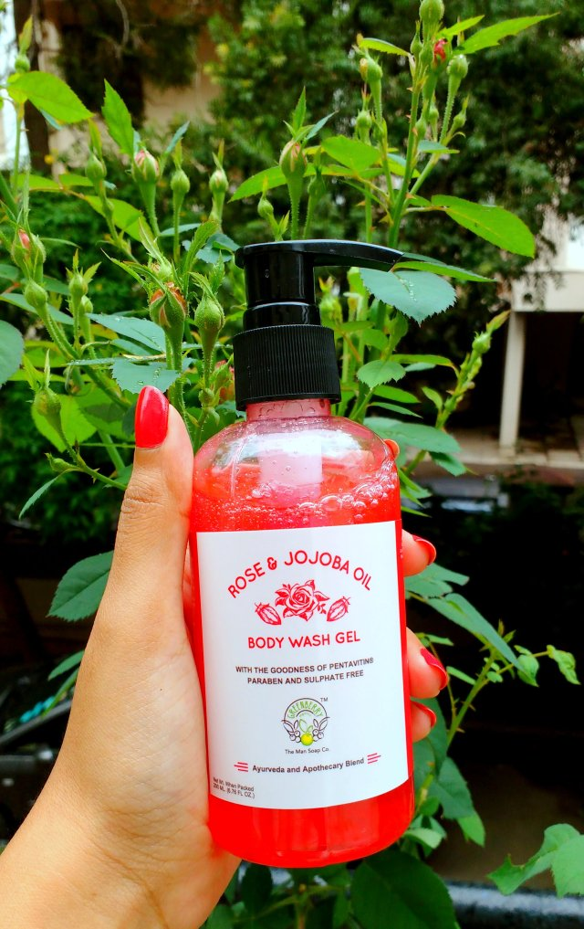 Greenberry Organics Rose and Jojoba Oil Body Wash Gel | Review