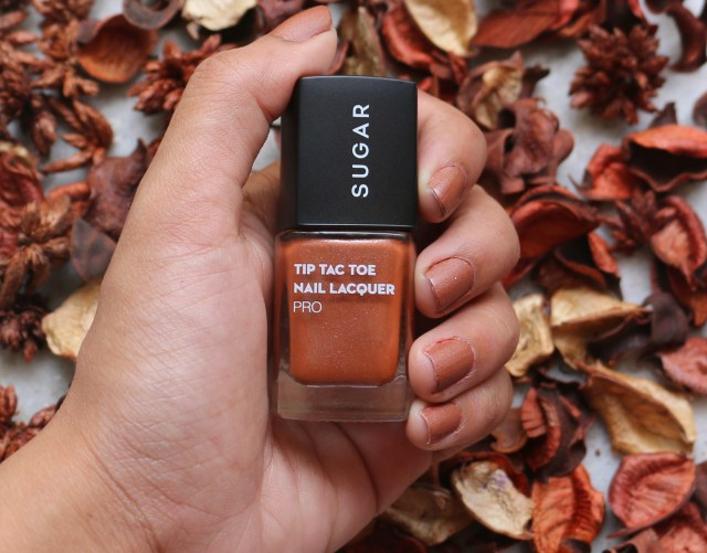 Sugar Tip Tac Toe - Tan About Town Nail Lacquer | Review and Swatches