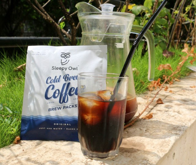 Sleepy Owl Cold Brew Coffee - Brew Packs | Review