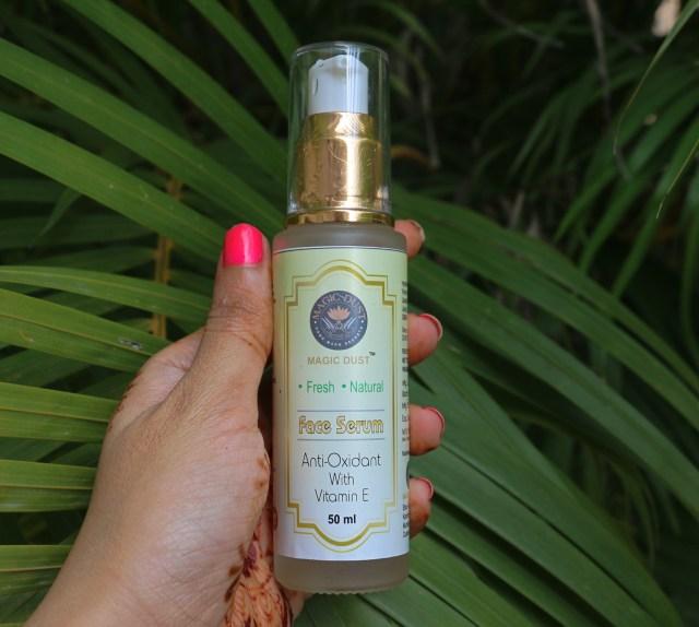 Magic Dust Vitamin E Face Serum | Review