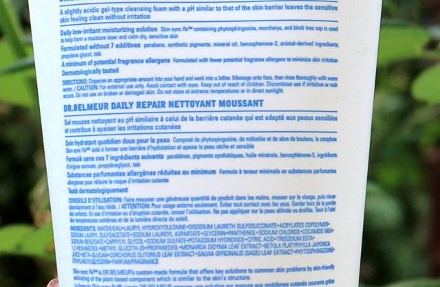 The Face Shop Dr. Belmeur Daily Repair Foam Cleanser | Review