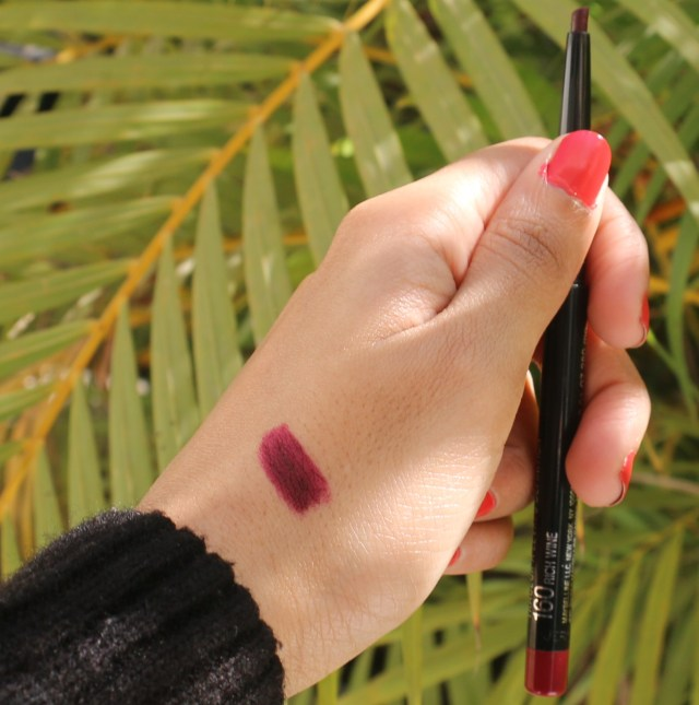 Maybelline New York Color Sensational Lip Liner - Rich Wine | Review and Swatches