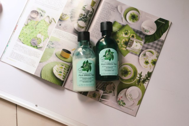 The Body Shop Fuji Green Tea Refreshingly Hydrating Conditioner | Review