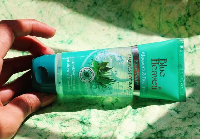 Blue Heaven Aloe Vera & Tea Tree Face Wash | Review