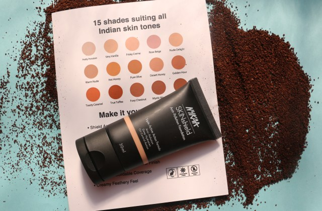 Nykaa SkinShield Anti-Pollution Foundation | Review and Swatches