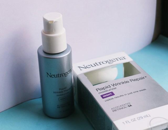 Neutrogena Rapid Wrinkle Repair Moisturizer | Review